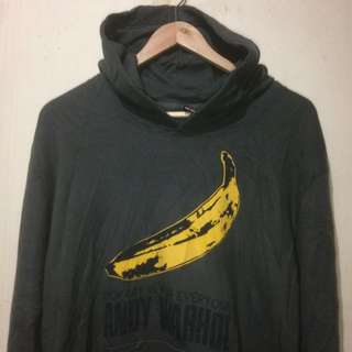 "Hoodie Andy Warhol ""Pop Art is For Everyone"" Sz XL"