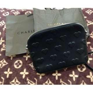 Tas Charles & keith Original. Size S