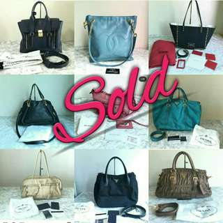 Sold Bags
