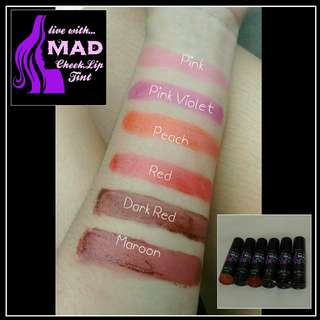 MAD Cheek &  Lip Tint (Organic)