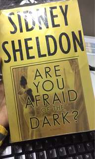 Sidney Sheldon's Are you afraid of the dark ? and Aleph by Paulo Cuelho