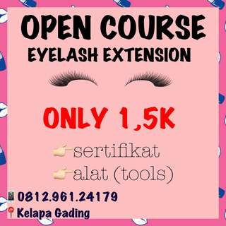 KURSUS EYELASH EXTENSION