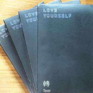 Bts Love Yourself Tear sealed