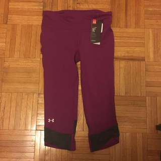NWOT Under Armour Capri Tights