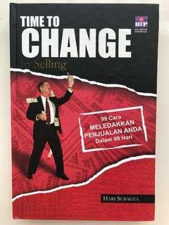 Time to Change in Selling, 99 cara meledakan penjualan Anda dalam 99 hari
