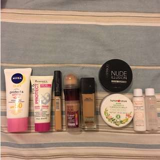 For Sale - Drugstore Make-Up / Skin Care Set