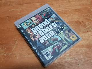 PS3 Games Grand Theft Auto IV