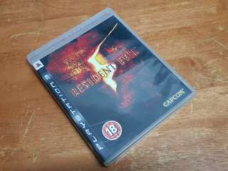 PS3 Games Resident Evil