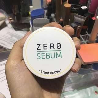 Etude house zero sebum powder
