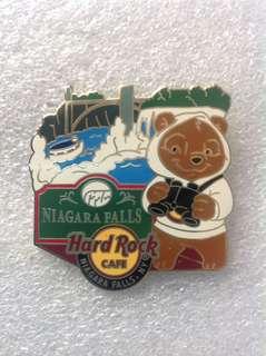 Hard Rock Cafe Pins - NIAGARA FALLS (NY) HOT 2014 NATIONAL PARK BEAR SERIES!