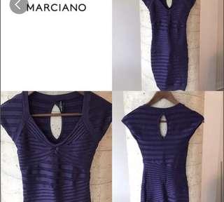 New Marciano dress xsmall purple