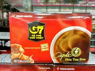 🚚 越南 G7 黑咖啡/1箱/24盒(360小包)720克