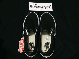 Vans Slip On Black/White