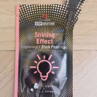 BrighteningEX Black Pearl Mask