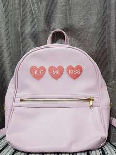 JRunway Pastel Pink Backpack