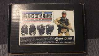 1/6 Scale Toy Soldier Exclusive Delta Force Custom A.B.A Vest