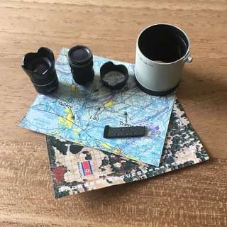 1/6 scale lenses and maps