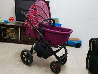 BABY STROLLER WITH CAR SEAT SWEET CHERRY