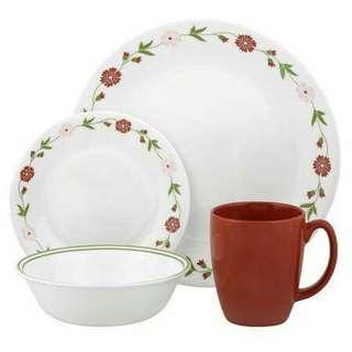 Corelle Dining ware set