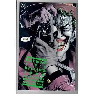 Batman: The Killing Joke TPB 1988 Print