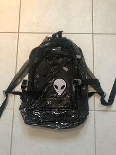 PVC alien backpack!