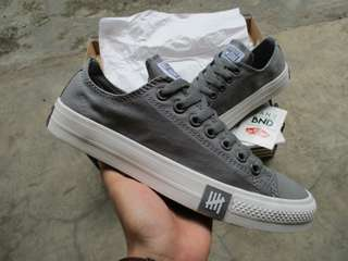 Converse Undeafeated Low Dark Grey