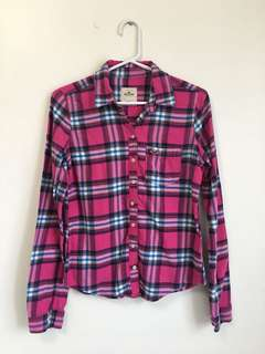 Hollister Flannel Shirt, Size M