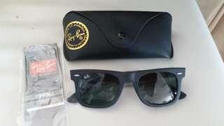Original.rayban RB 2140 BLACK FRAME LENS