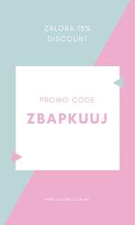 Zalora discount Promo Code