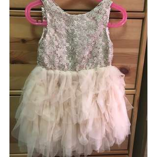 H&M Peach Kids Dress