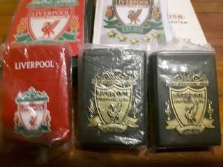 LIVERPOOL CIGARETTES CASING ,USB LIGHTER, KEY CHAIN AND ZIPPO
