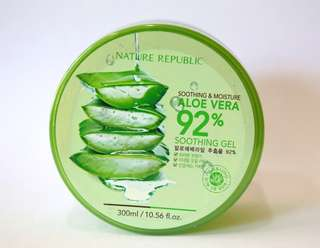 FREE ONGKIR - Nature Republic Aloe Vera 92% Soothing Gel