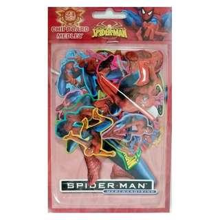 Spiderman - Chipboard Medley ~ Brand New