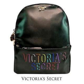 AUTHENTIC VICTORIA SECRET BACKPACK BLACK COLOR