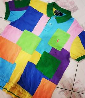 POLO R.L PATCHWORK