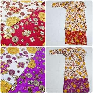 Baju Kurung Cotton (2XL) #HariRaya35