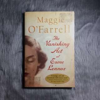 The Vanishing Act of Esme Lennor by Maggie O'Farrell
