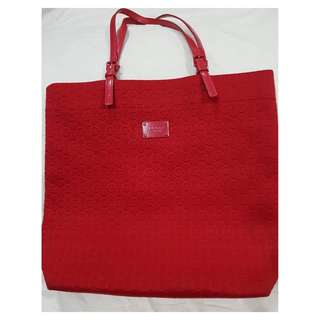 Preloved #michaelkors (AUTHENTIC) - Red Tote Bag