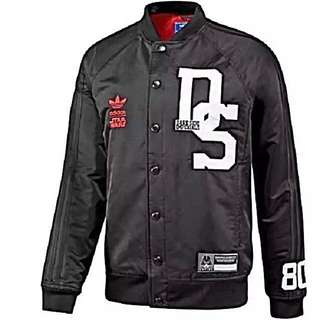 Brand New In Packaging Limited Edition Adidas Star Wars Dark Side Imperial Varsity Jacket
