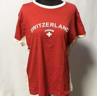 Red Switzerland Shirt