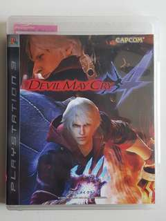 Ps3 Devil May Cry 4 Dmc Game