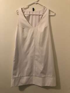Sz 10 stable white dress