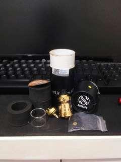 (Authentic) MERLIN Mini Gold RTA