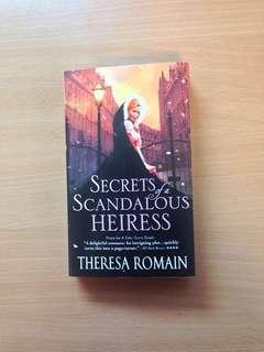 Theresa Romain  Secrets of a Scandalous Heiress