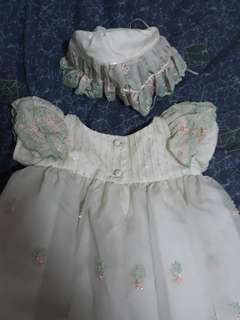 Customized christening gown
