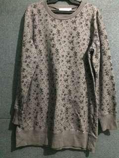 Flowery Sweatshirt