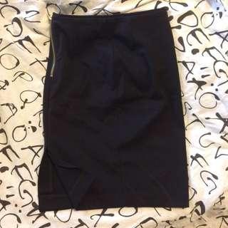 H&M Black Tight Skirt