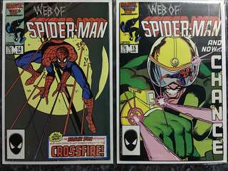 WEB OF SPIDER-MAN #14 & #15
