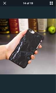 iPhone 8 black marble phone case (brandnew)
