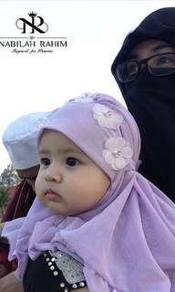 NEW Tudung Baby by NabilahRahim